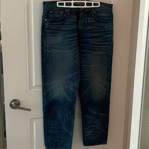 JCrew Point Sur Shoreditch Straight Leg Jeans